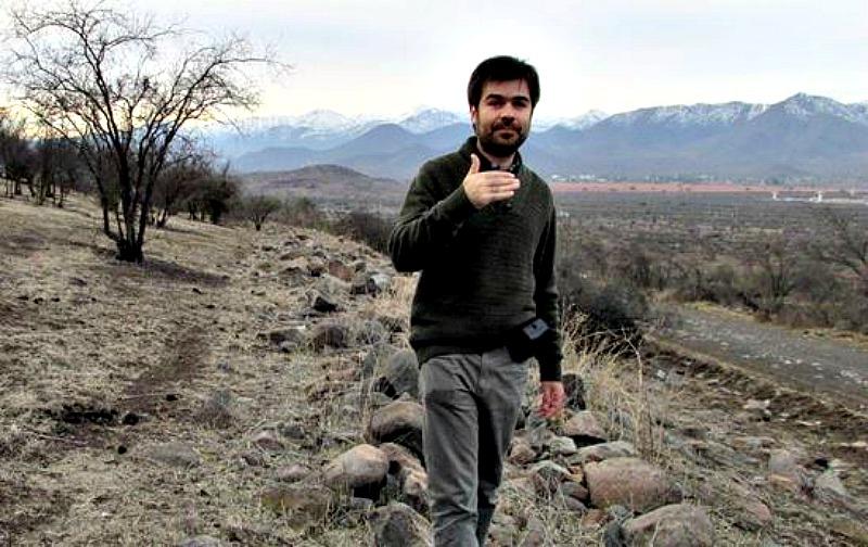 El ya fallecido historiador chileno Gonzalo Sotomayor, coautor del estudio. (MNHN-Stehberg- Sotomayor/La Gran Época)