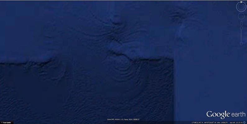 Vista superior (Google Earth)