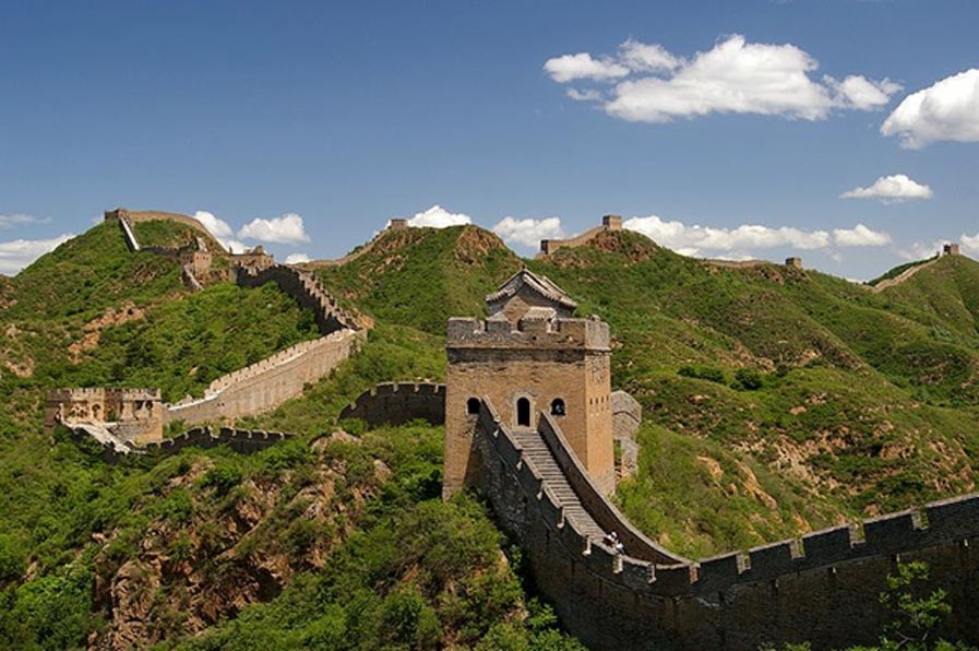 Sección de la Gran Muralla China cercana a Jinshanling. (Jakub Hałun/ CC BY SA 4.0)