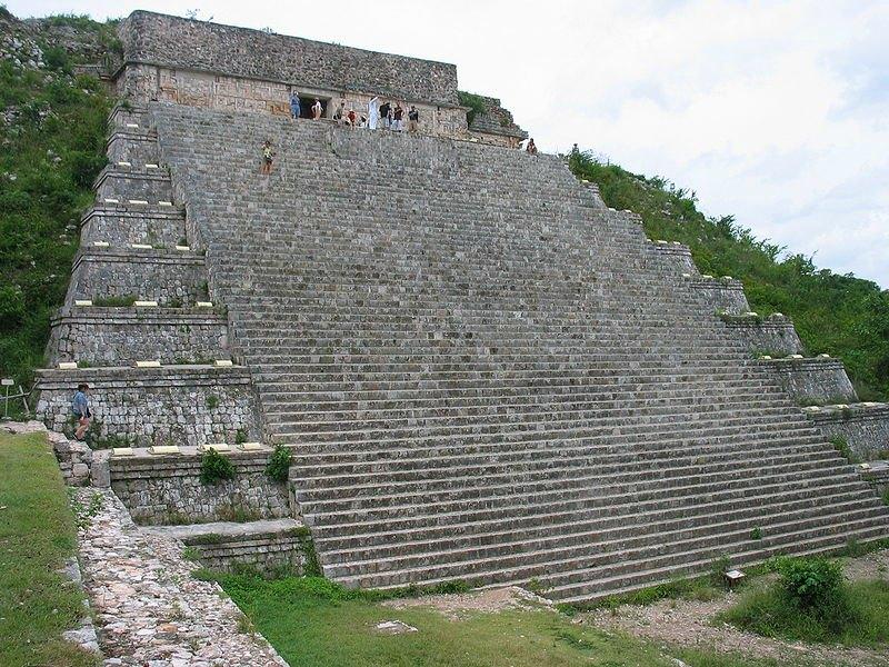 La Gran Pirámide de Uxmal, México. (Keith Pomakis/CC BY-SA 2.5)