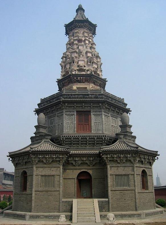 La Pagoda Hua del Templo de Guanghui, en China. (Public Domain)
