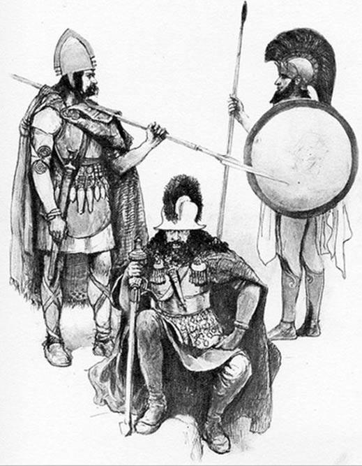 Guerreros de la Edad del Bronce. (CC BY NC SA 2.0)