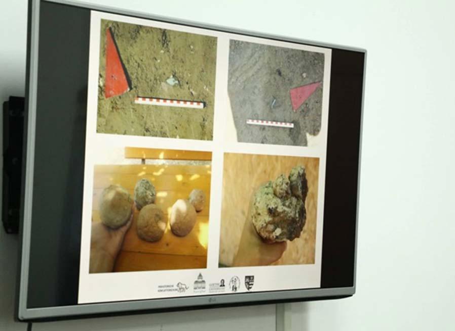 Imágenes de los hallazgos realizados en la ciudadela de la Edad del Bronce excavada en Rumanía. (Consiliul Judetean Arad)