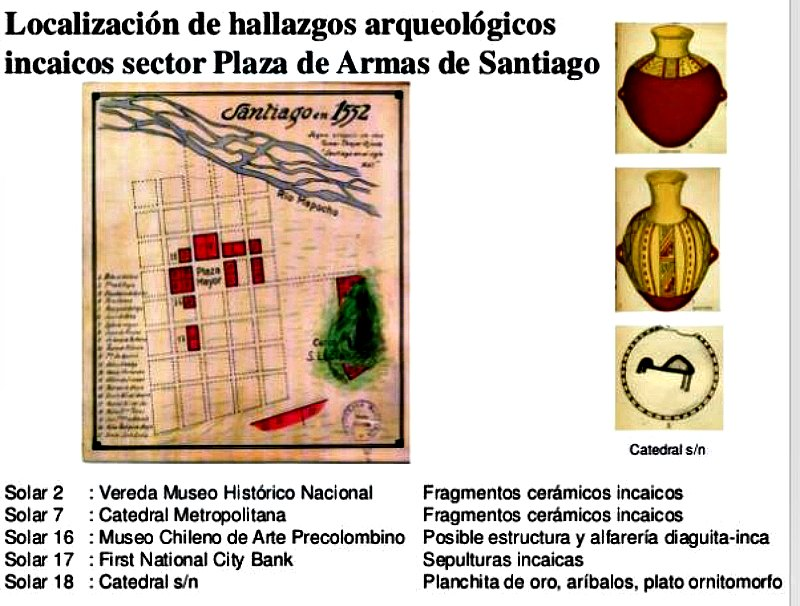 Primeros hallazgos incas descubiertos bajo Santiago de Chile. (Imagen: MNHN-Stehberg-Sotomayor/La Gran Época)