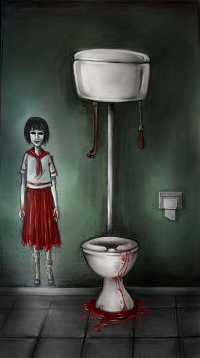 Hanako la del lavabo.
