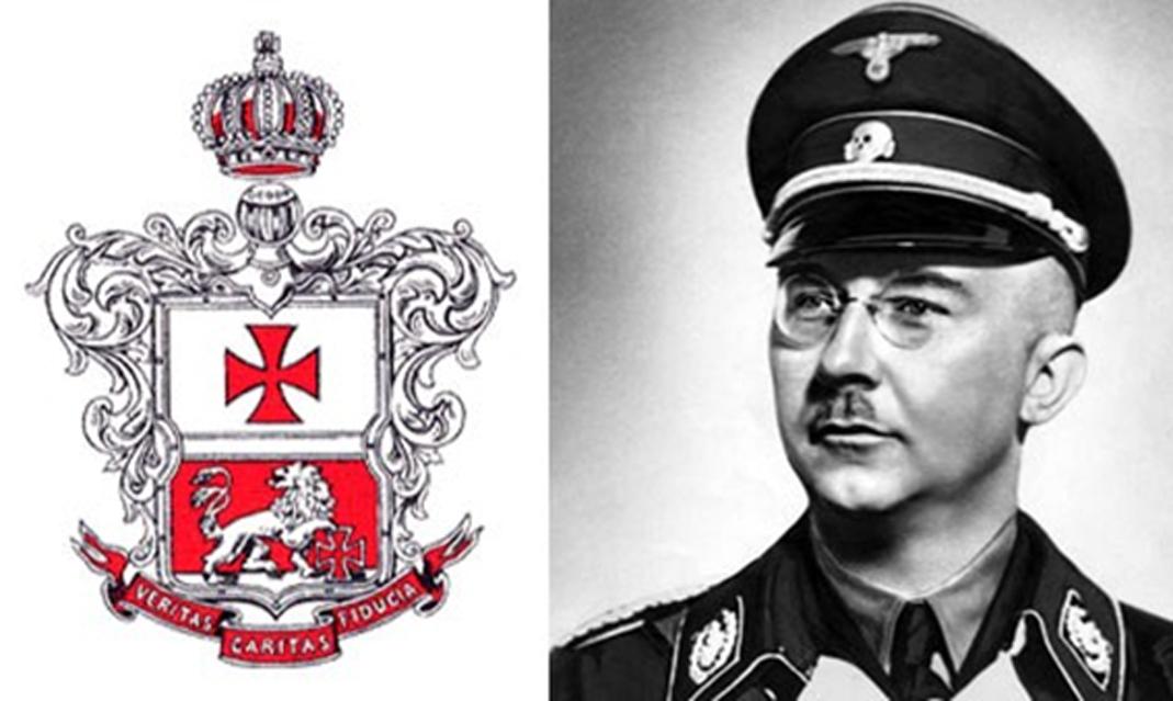 El jefe de las SS Heinrich Himmler confiscó unos 6.000 libros de la Orden Masónica de Noruega como parte de su investigación sobre la caza de brujas en la época medieval. (Public Domain)