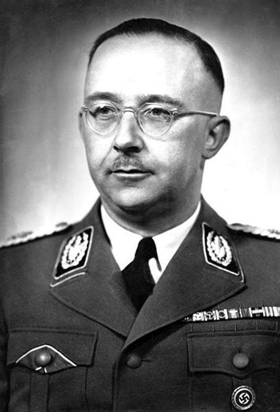 Heinrich Himmler. (Bundesarchiv, Bild 183-S72707 / CC-BY-SA 3.0)