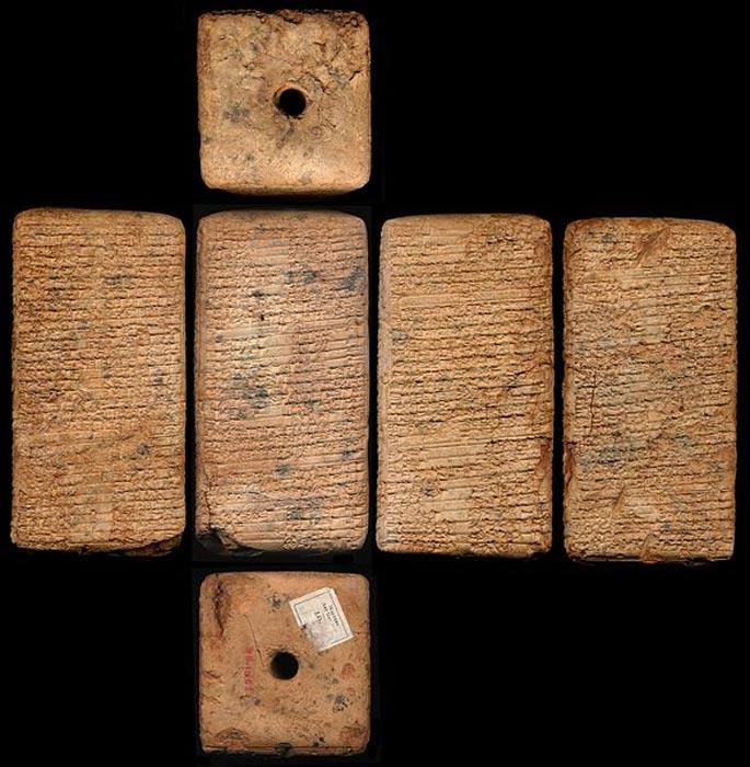 Tablillas de los Himnos del Templo. (notablewomen.wordpress.com)