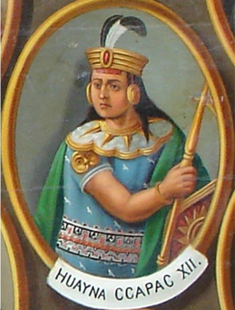 El 12º Inca, Huayna Cápac. (CC BY SA 3.0)