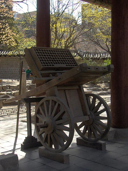 Hwacha expuesto en Seúl, Corea (CC BY 2.0)
