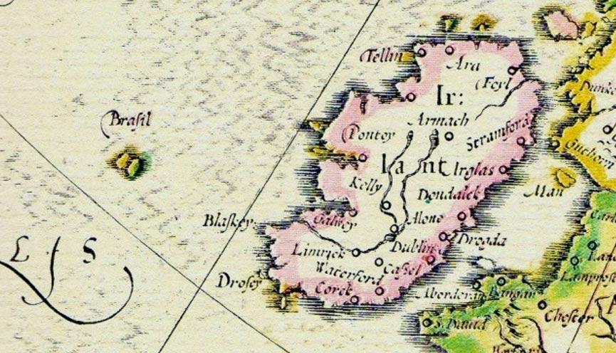 Hy-Brasil en un mapa de 1325 (Ocultoreveladoaverdade)