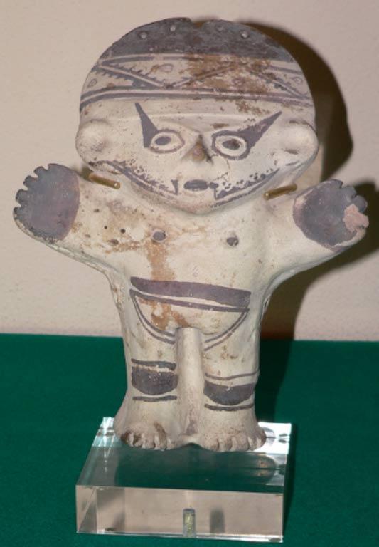 Cuchimilco, ídolo de arcilla sólida típico de la cultura Chancay (CC BY 3.0)