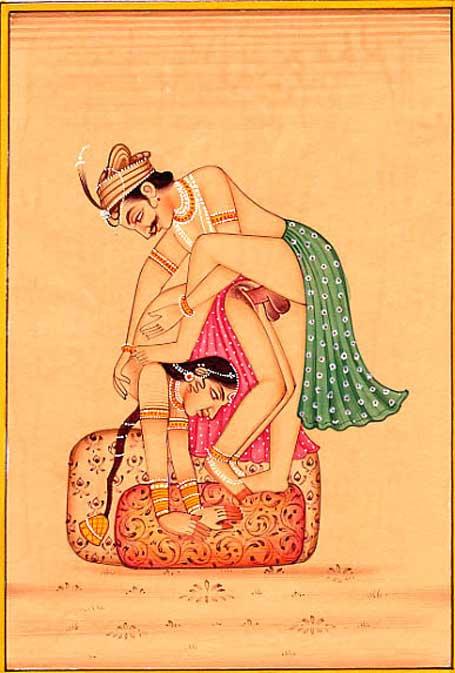 Ilustración del Kama Sutra. (Dominio público)