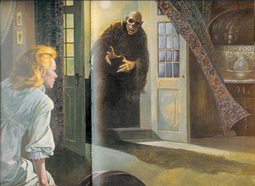 Ilustración de un vampiro (forums.gunbroker.com)