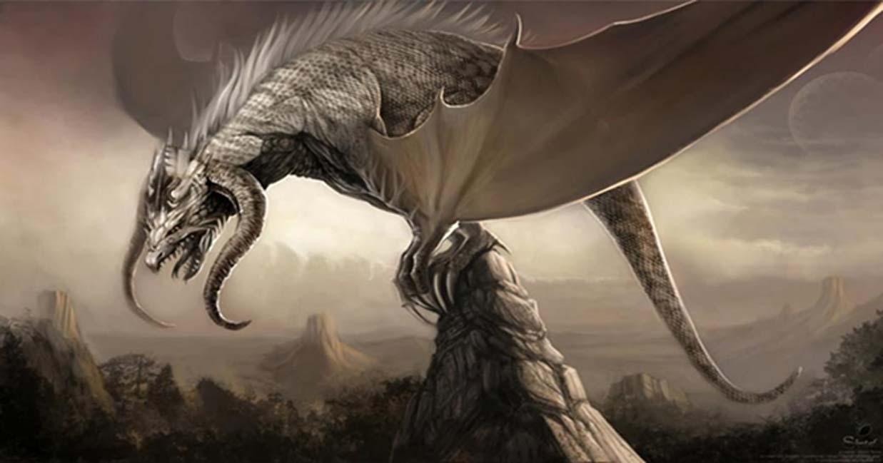 Ilustración de un dragón realizada para el Proyecto Durian de la Fundación Blender. (Dominio público)