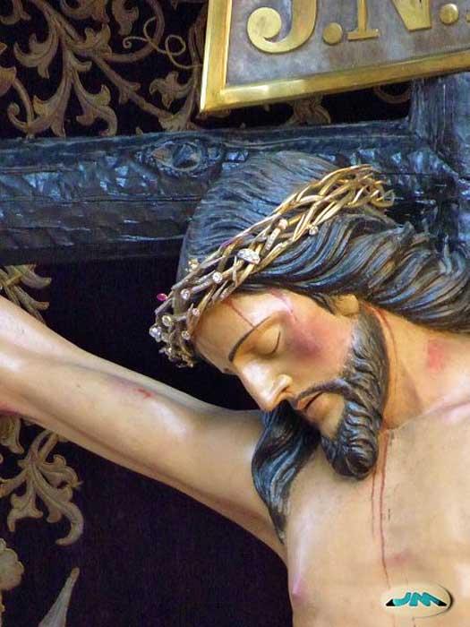Detalle del Cristo de la Victoria de Vigo, España. (juantiagues/CC BY SA 2.0)
