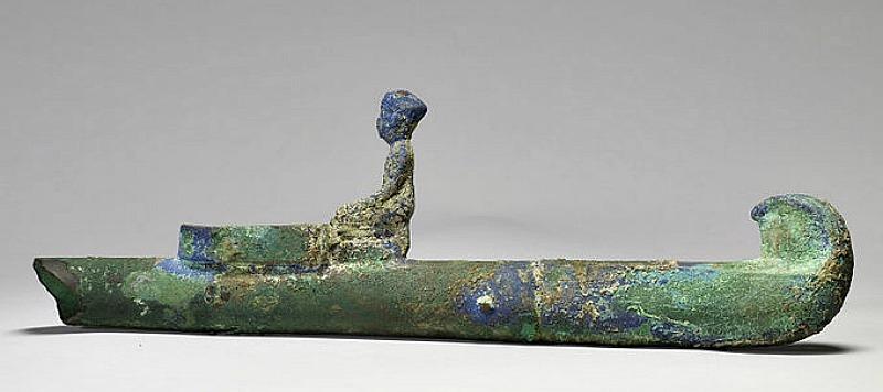 Antiguo incensario egipcio de bronce. (Siglo VII a. C.). Museo de Arte Walters de Baltimore, Estados Unidos. (Public Domain)