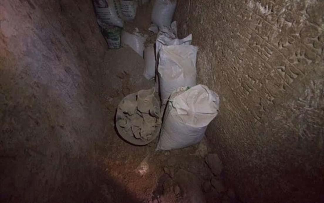 La inscripción cuneiforme recientemente descubierta sobre el rey Asarhaddón dataría del 672 a. C., la época del Imperio asirio (Jérémy André)