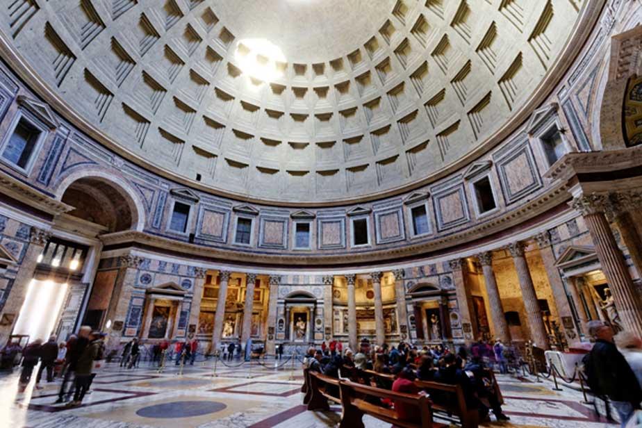 Vista interior del Panteón de Roma (CC BY 2.0)