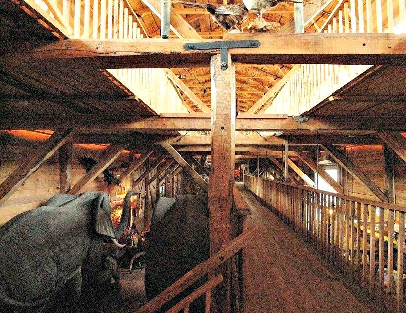 Interior del arca construida por el carpintero Johan Huibers. (Ceinturion/Public Domain)