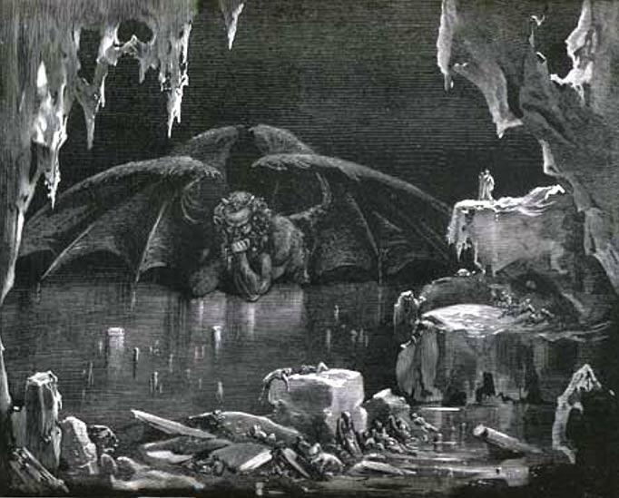 El Gran Grimorio contiene instrucciones para invocar a Lucifer (Dominio público)