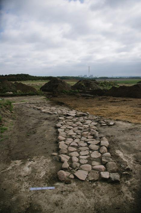 Una carretera de la Edad del Hierro. Foto: Jacob Due/Museo Moesgaard