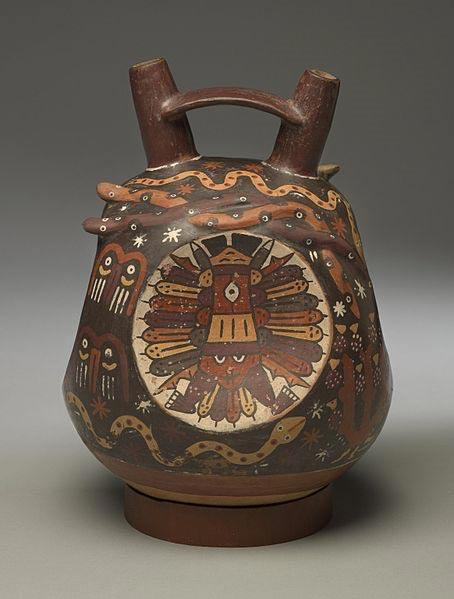 Jarra de la cultura Nazca. (Museo de Brooklyn)