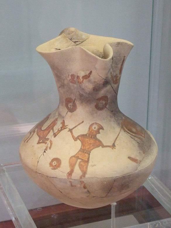 Jarra cerámica de la antigua Numancia (Ecelan/CC BY SA 4.0 )