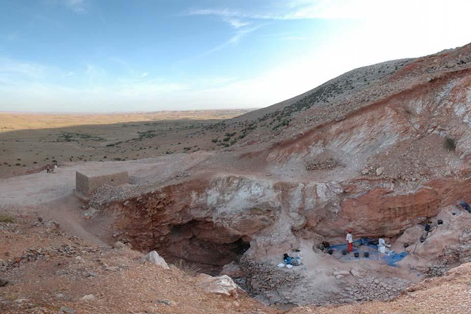 El yacimiento arqueológico de Jebel Irhoud, Marruecos. (Shannon McPherron, MPI EVA Leipzig)