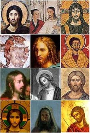 Algunas representaciones de Jesús en el arte a lo largo de los siglos. (Dominio público)