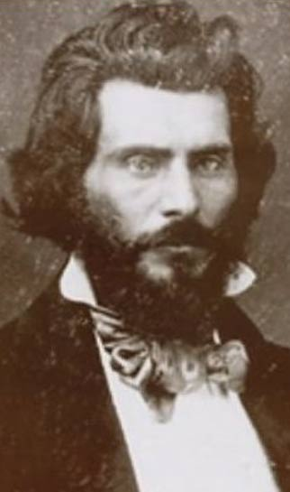 John Rollin Ridge, escritor de origen cheroqui. (Public Domain)