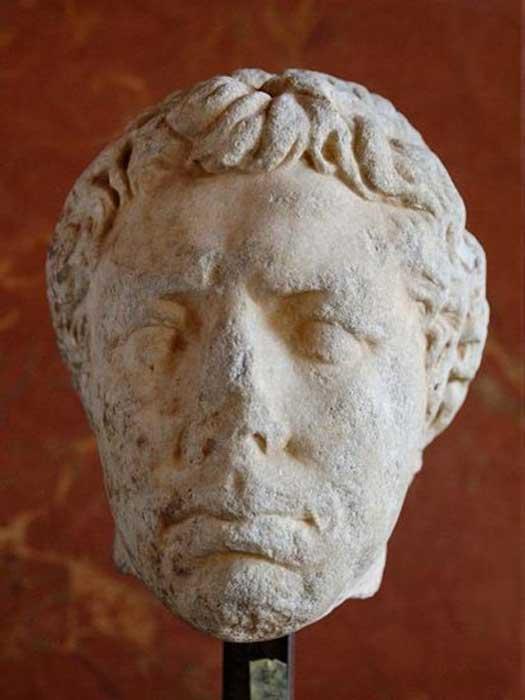 Escultura de Juba II, Museo del Louvre. (CC BY 2.5)