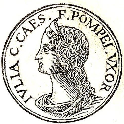 Julia Caesaris, hija de Julio César. (Public Domain)