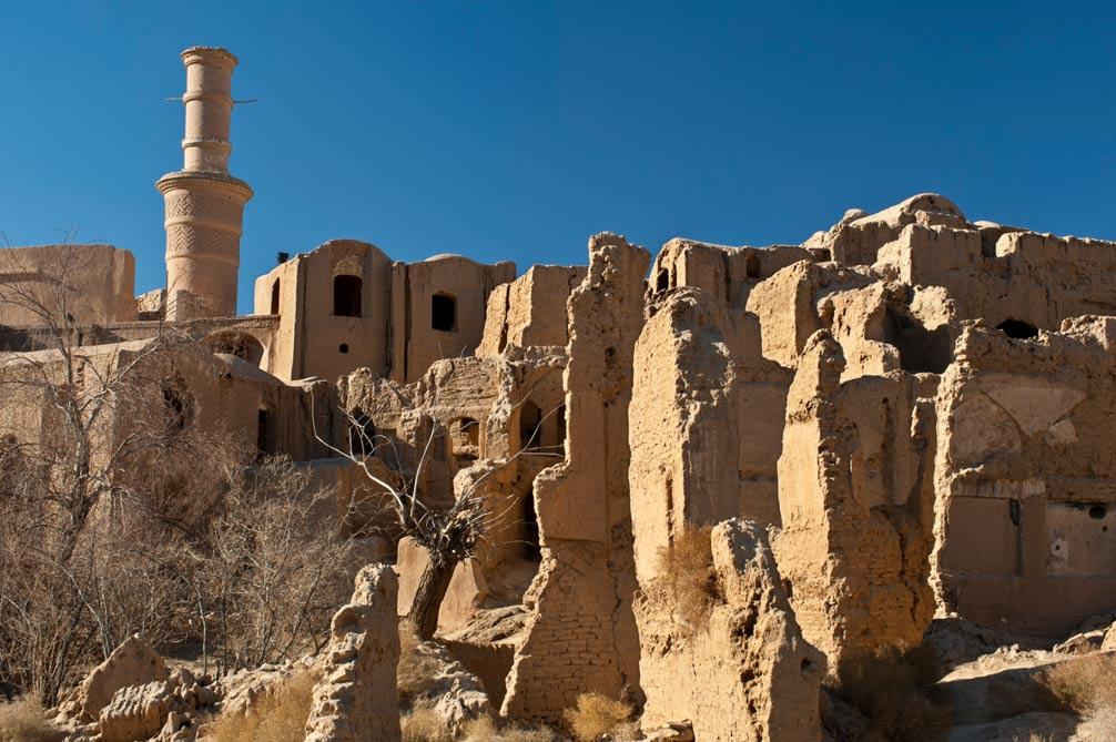 Ciudad Vieja de Kharanaq (Wikimedia Commons)