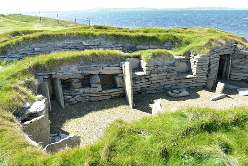 El Knap de Howar escocés está considerado como una de las viviendas de granjeros más antiguas del norte de Europa. (Fotografía: Hipertextual)