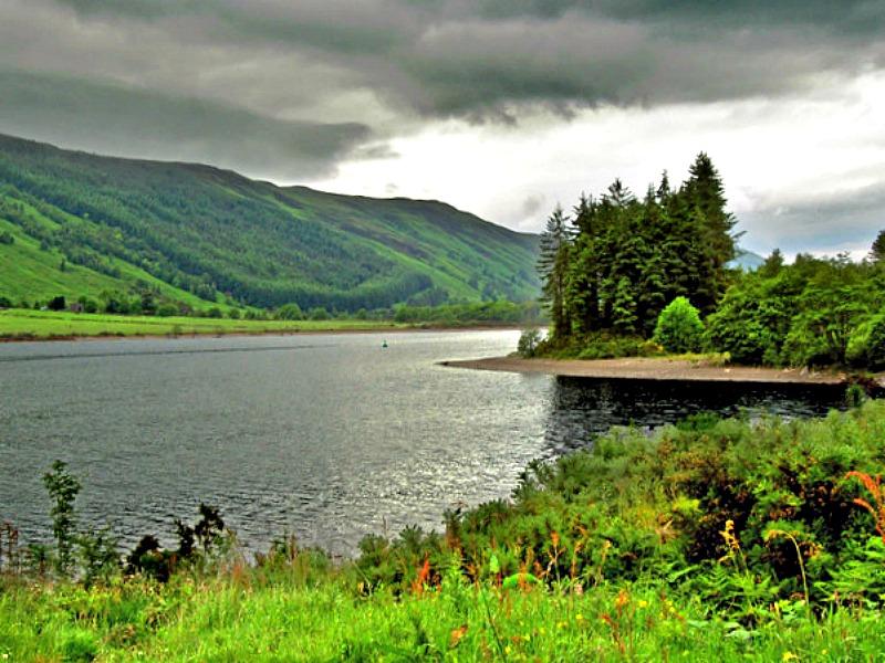 Bella panorámica de Inchnacardoch Bay, en el Lago Ness, Escocia. (Ian Greig/CC BY-SA 2.0)