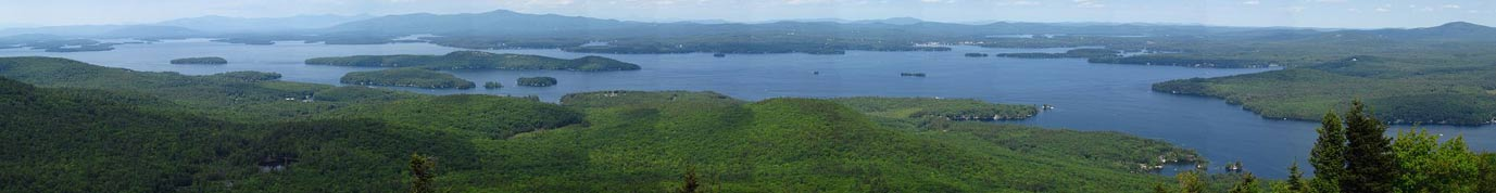 Vista panorámica del Lago Winnipesaukee, New Hampshire (Wikimedia Commons)