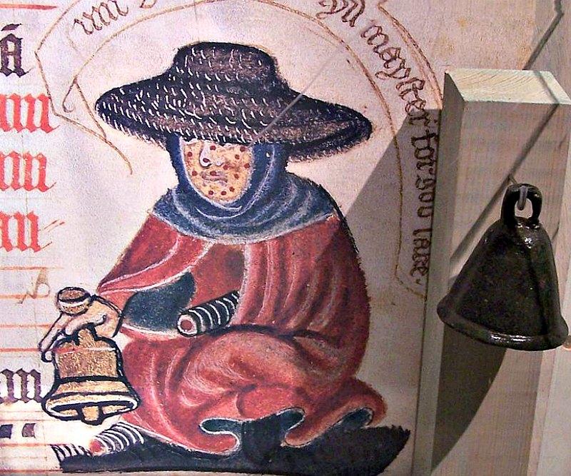Campanilla medieval de un leproso. Museum Ribes Vikinger, Dinamarca. (Cnyborg/GNU FREE)