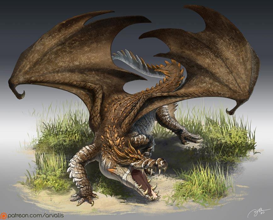 ¿Dio pie el cocodrilo del Nilo a las leyendas sobre dragones? (Arvalis / DeviantArt)
