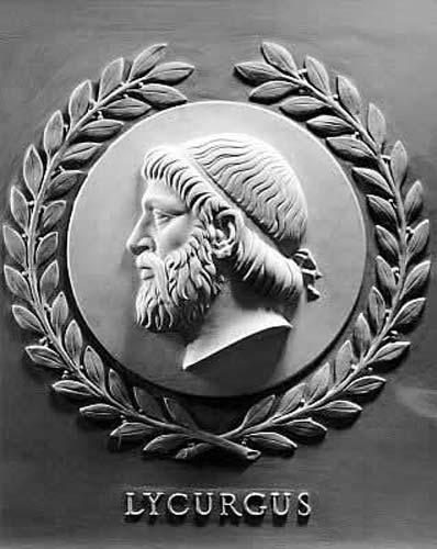 El filósofo espartano Licurgo (Public Domain)