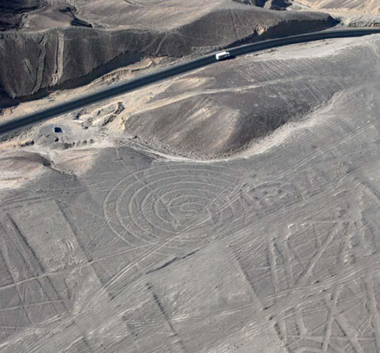 Espiral de Nazca (detalle, CC BY 3.0)