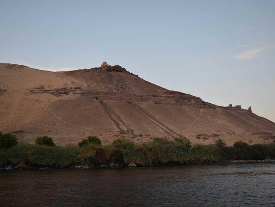 El lugar del hallazgo: aquí es donde los científicos de la Universidad de Bonn descubrieron esta espectacular muestra de arte rupestre. (David Sabel)