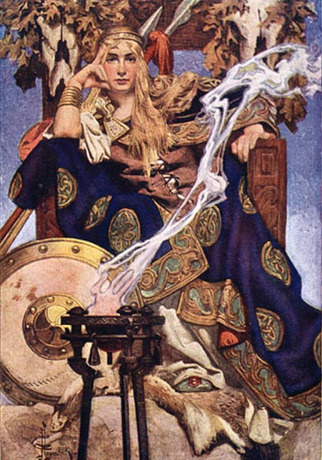 Maev, la reina de las hadas (Public Domain)