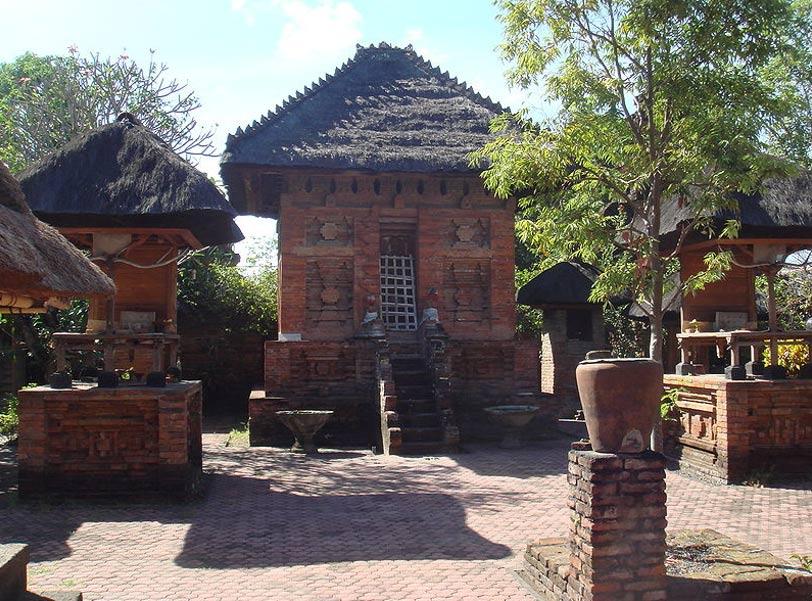 "Pura Maospahit, ""Templo Majapahit"" de Denpasar, Bali. (Wikimedia Commons)"