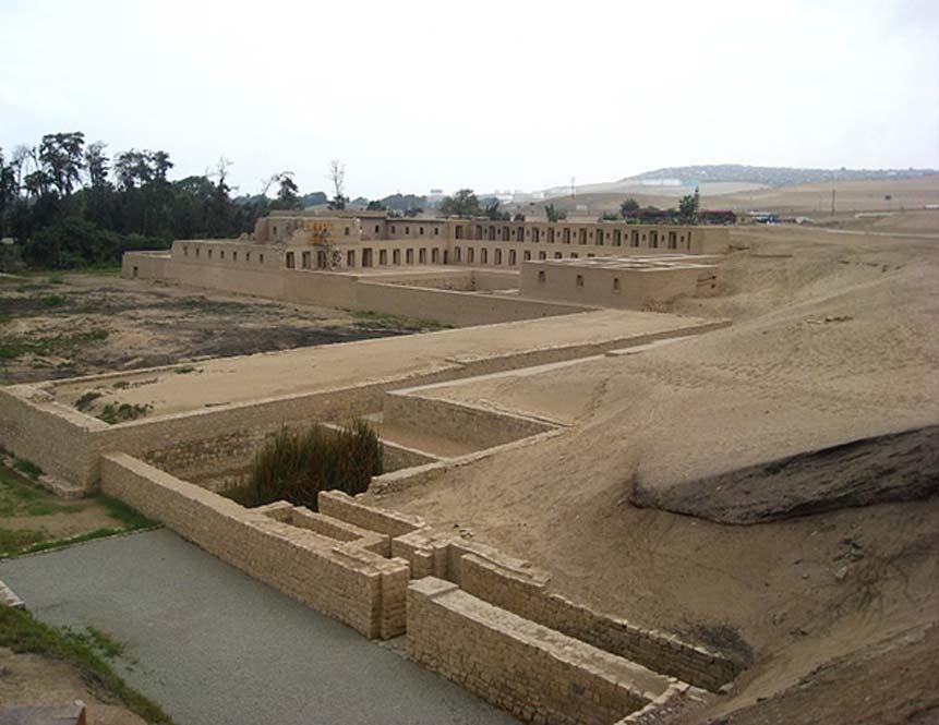 Mamacona, Casa de las Vírgenes del Sol, ruinas de Pachacámac, Perú. (CC BY-SA 3.0)