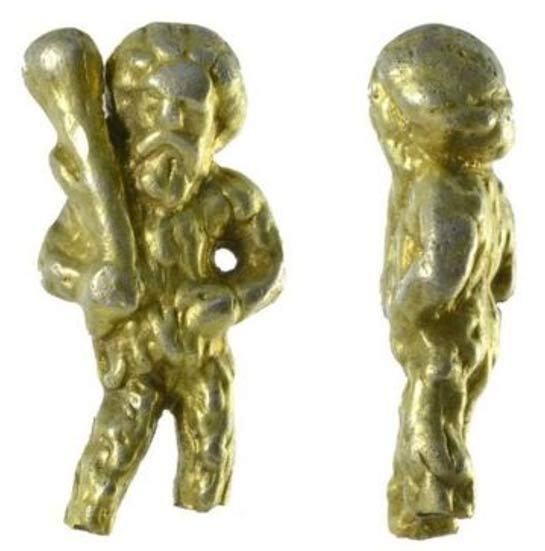 El Hombre Salvaje cuenta con una larga historia en los mitos y leyendas de la humanidad. Esta fotografía muestra el mango de cuchara hallado cerca de Ipswich. (Fotografía: Suffolk County Council Archaeological Service)