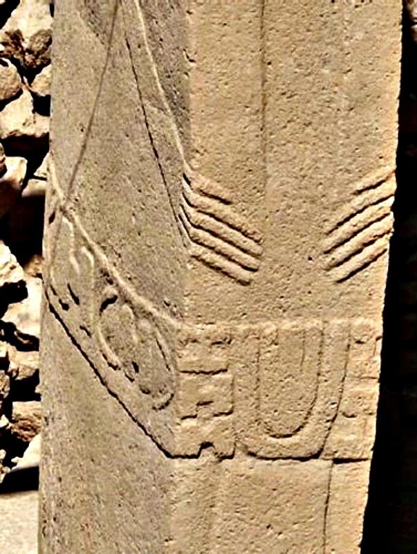 Detalles de las manos talladas sobre las columnas de Göbekli Tepe. (Fotografía: Historia Enigmática)