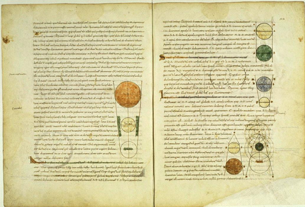 Manuscrito medieval de una traducción al latín del Timeo de Platón realizada por Calcidio. (Public Domain)