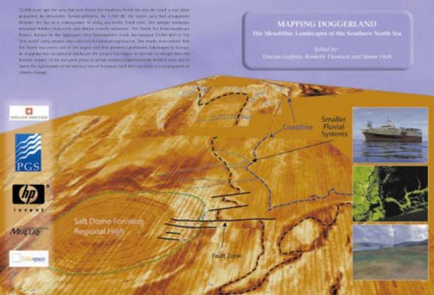 """""""Mapeado de Doggerland"""", parte del Proyecto de Paleoentornos del Mar del Norte (Universidad de Birmingham)"""