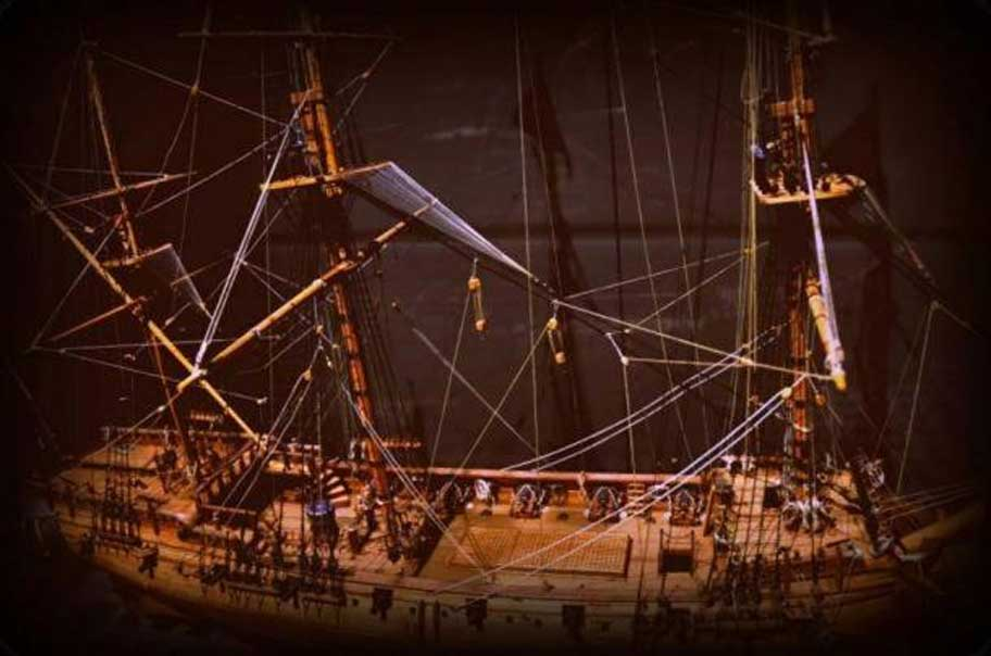 Maqueta del Whydah Gally (CC BY 2.0)